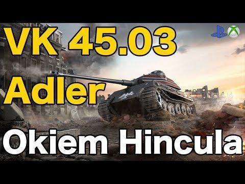Vk 45.03 Adler Okiem Hincula World Of Tanks Xbox One/Ps4