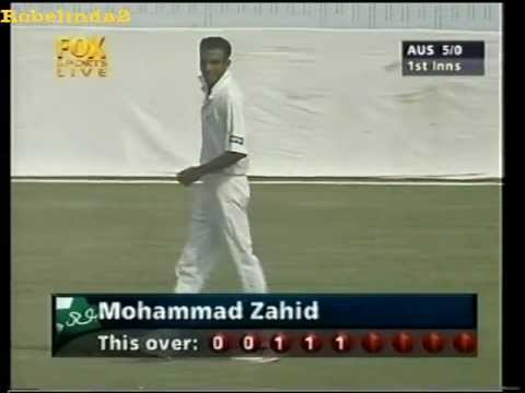 Mohammad Zahid BALL BY BALL spell in test cricket