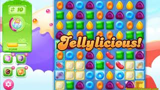 Candy Crush Jelly Saga Level 1454 (3 stars, No boosters)