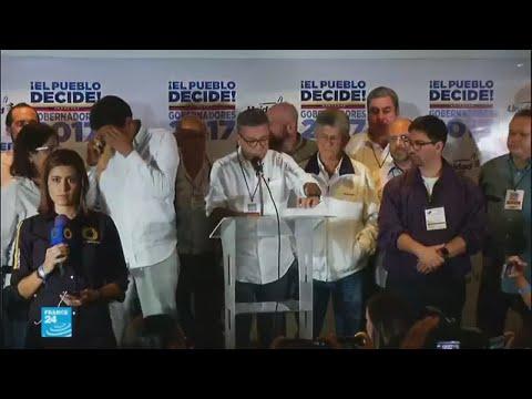 المعارضة الفنزويلية ترفض نتيجة الانتخابات التي تصدرتها حكومة مادورو  - نشر قبل 2 ساعة