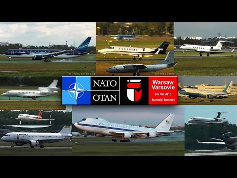 NATO Summit arrivals | GOVERNMENT AIRCRAFT Specials | USAF, RAF, German Air Force and more!