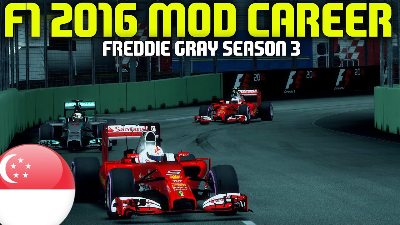 f1 2016 singapore grand prix freddie gray career f1 2014 game youtube. Black Bedroom Furniture Sets. Home Design Ideas