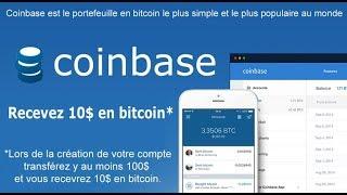 Créer votre portefeuille de cryptomonnaies avec Coinbase