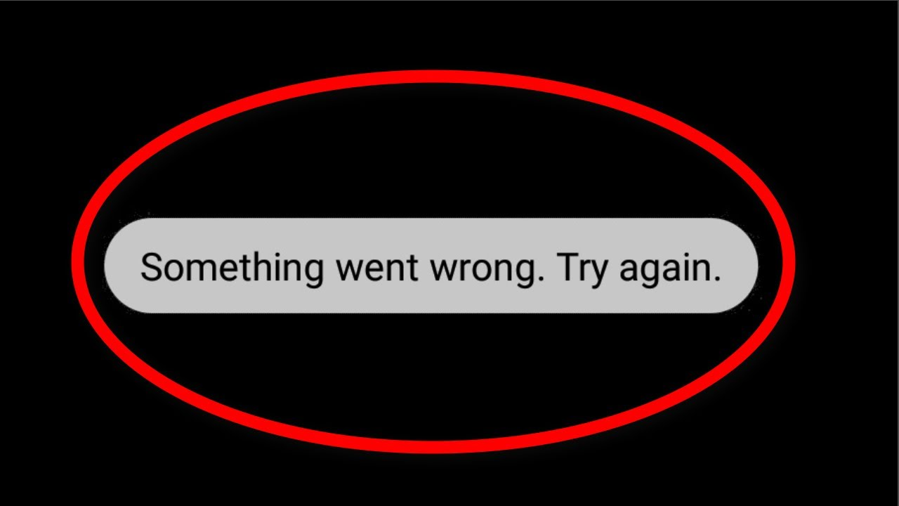 How To Fix Something Went Wrong Try Again Error On Playstore Playstore Network Connection Error Youtube