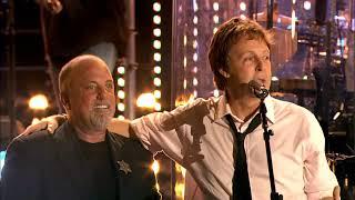 Paul McCartney & Billy Joel - Let it be (Live at Shea Stadium, New York) (2008), 1080p, HQ Audio