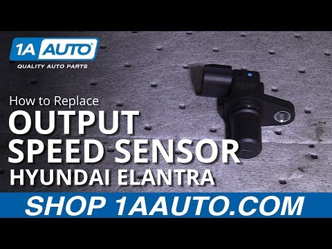 How to Replace Output Speed Sensor 00-07 Hyundai Elantra
