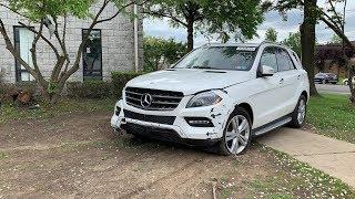 Льготная таможня в Абхазии ? Миф или реальность. 2015 Mercedes ML - из США в Абхазию.