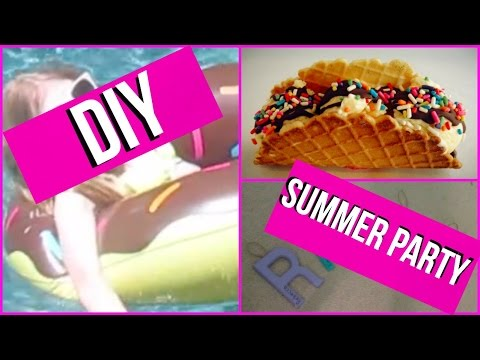 DIY Summer Party Ideas