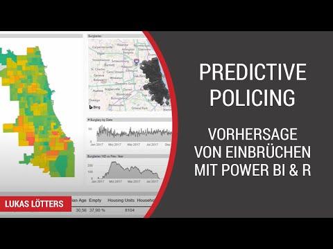 Predictive Policing: Vorhersage von Einbrüchen in Chicago mit Power BI & R