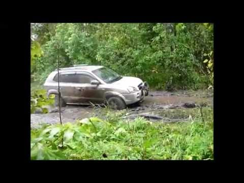 Hyundai Tucson Иномарки на бездорожье