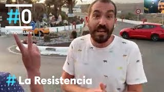 LA RESISTENCIA - Jorge Ponce pinta una rotonda   #LaResistencia 07.10.2019