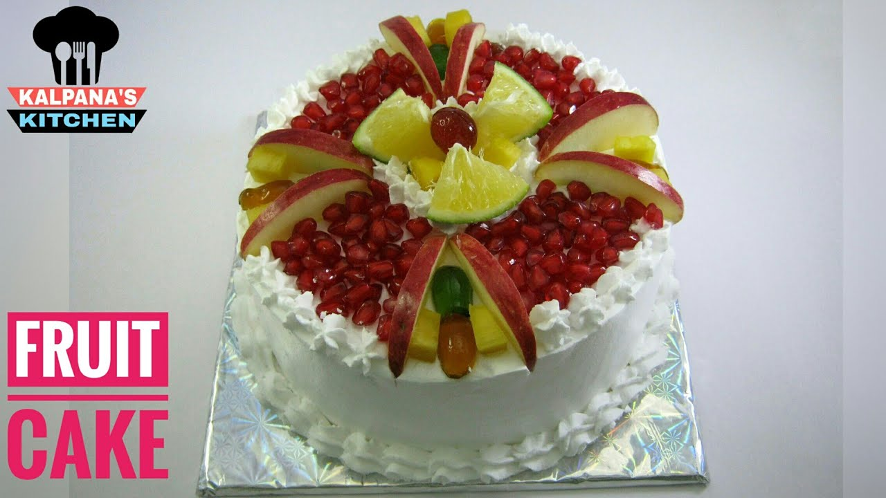 Fresh Fruit Cake How To Decorate Fruit Cake Cake Designs 10