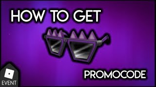 [PROMOCODE EVENT] How to get Spiky Creepy Shades in Roblox