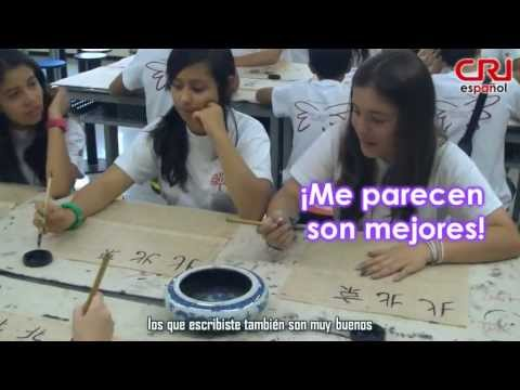Jóvenes colombianos aprenden cultura china Videos De Viajes