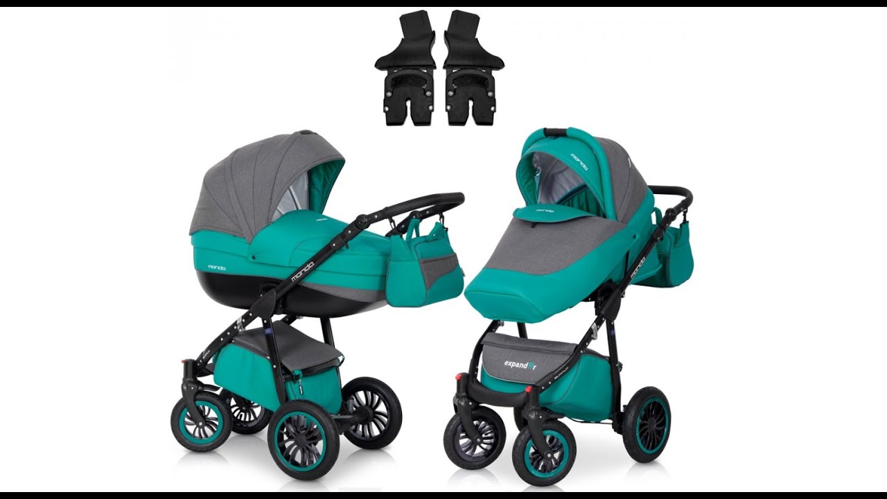 3 in 1 kinderwagen im test expander mondo black line von youtube. Black Bedroom Furniture Sets. Home Design Ideas