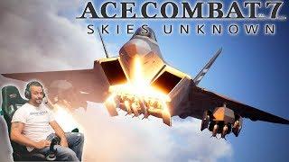 Ace Combat 7 | Hosting Multiplayer lobbies | Thrustmaster HOTAS