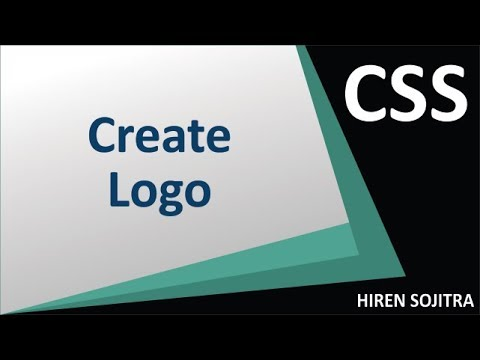 Create Logo With CSS #7 (by Hiren Sojitra)