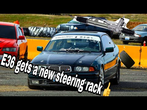 Nrg Quick Release Steering Wheel Bmw E36 Drift Build Episode 8