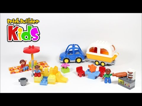 Lego Duplo 10602 Camping Adventure Lego Speed Build For Kids Youtube