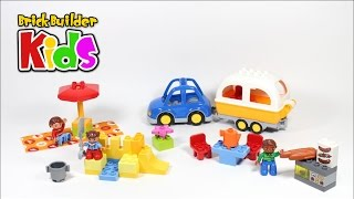 Lego Duplo 10602 Camping Adventure – Lego Speed Build For Kids