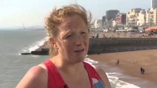 Julie Creffield - Fat Girls Guide to Running : Brighton Marathon 2014