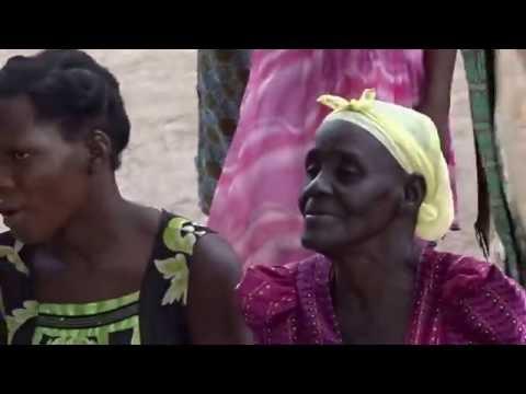 African Mud Hut People