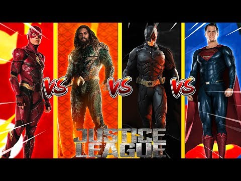 Minecraft JUSTICE LEAGUE - FLASH VS AQUA MAN VS SUPERMAN VS BATMAN - WHOI IS THE STRONGEST??