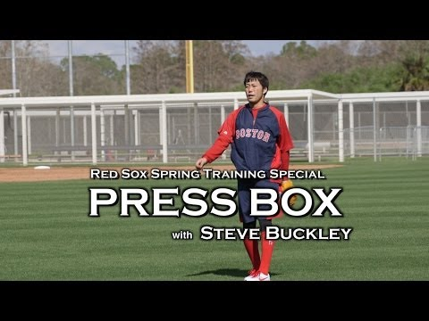 Boston Herald Press Box : Boston Red Sox Spring Training with Steve Buckley