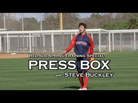 Boston Herald Press Box : Boston Red Sox Spring Training with Steve Buckley
