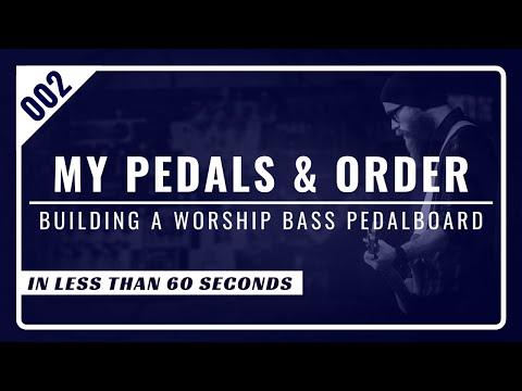 Building A Bass Pedalboard // Under 60 Seconds