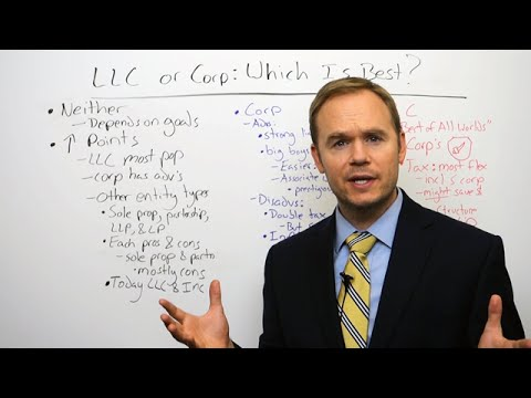 LLC or Corporation: Which is Better