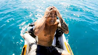 Crazy Bait Ball Fishing On The Jet Ski SHARKS & TUNA - Ep 168