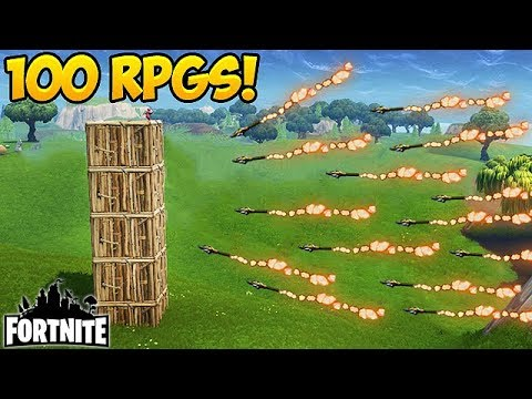 SHOOTING 100 RPGS IN 10 SECONDS! - Fortnite Funny Fails And WTF Moments! #169 (Daily Moments)