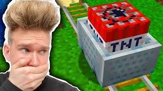 TROLL WAGONIK Z TNT NA WIDZACH  | Minecraft Extreme