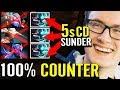 100% IMBA Counter ALL - Miracle Terrorblade Hard Carry 7.22 Dota 2