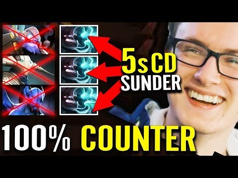 100% IMBA Counter ALL - Miracle Terrorblade Hard Carry 7.22 Dota 2
