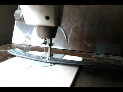 Riccar Manual Sewing Thick Pure Leather Three Layers YouTube Amazing Thompson Sewing Machine Manual