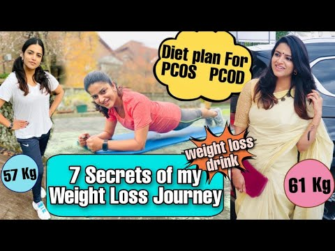 Secrets Of My Weight Loss Journey|Diet Plan For PCOS/PCOD | Lintu Rony | Fitreat Couple