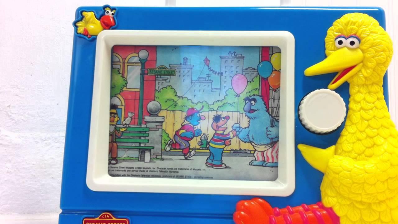 Sesame Street Musical Toys : Sesame street musical tv youtube