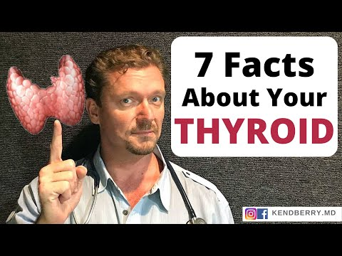 7 Facts About The Thyroid I Bet You Didn't Know!