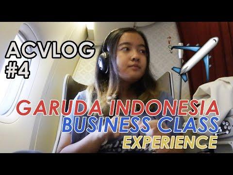 ACVLOG #4: GARUDA INDONESIA BUSINESS CLASS JAKARTA - AMSTERDAM EXPERIENCE | Andira Chairunnisa