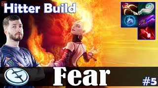 Fear - Lina MID | Hitter Build | Dota 2 Pro MMR Gameplay #5