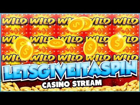 LIVE CASINO GAMES - Reel race on Friday evening stream!