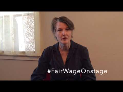 Annette O'Toole FairWageOnstage
