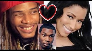 Nicki Minaj has a CRUSH on Fetty Wap & that's Why Meek Mill Deleted his INSTAGRAM 💔❤️🐸☕️