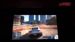 Need for Speed: Most Wanted U (Wii U) Co-Driver Gamepad Feature Explained - 720p HD
