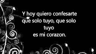 Y Llegaste Tu    Banda El Recodo Lyrics