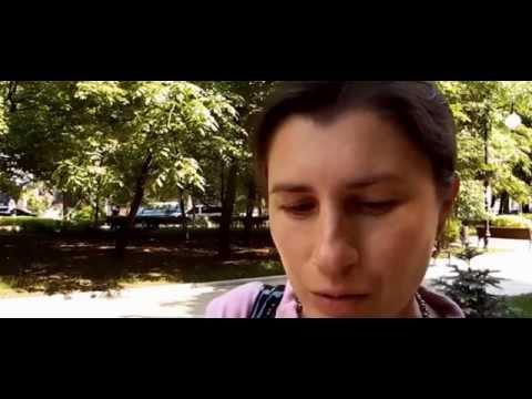 Украинец в Донецке