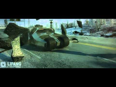 Lifang CGI Sci-fi Car Chase Animation Movie