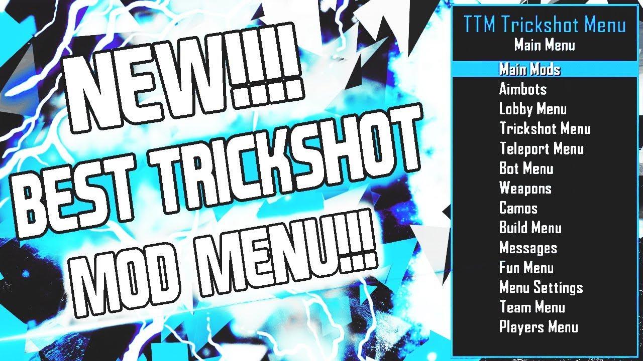 """❄️ [bo2/1. 19]new free trickshot mod menu """"luckzy's v3"""" +."""